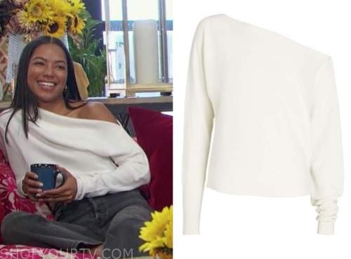 bri springs, the bachelor, ivory sweater