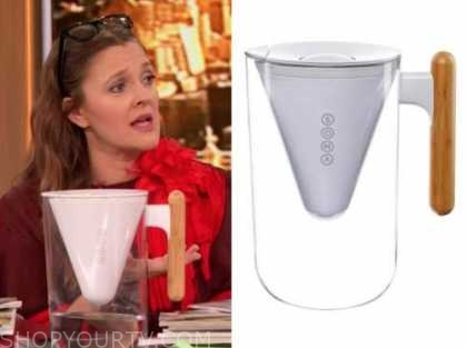 drew barrymore show, drew barrymore, water filter pitcher