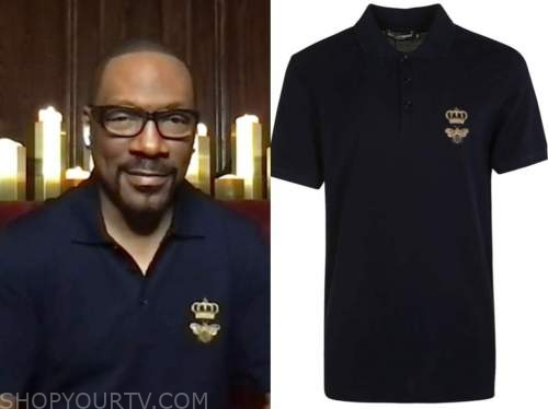 eddie murphy, live with kelly and ryan, bee and crown polo
