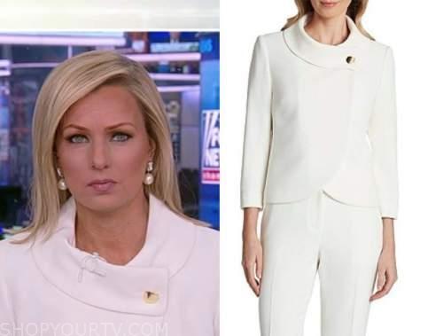 sandra smith, america reports, white roll neck jacket