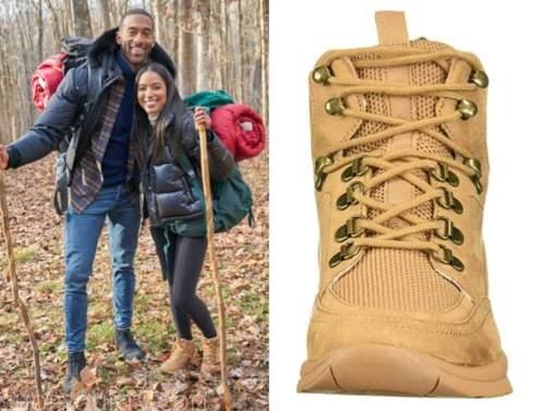 bri springs, the bachelor, camel sneakers