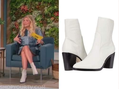 amanda kloots, the talk, white booties