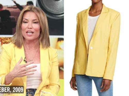 kit hoover, access daily, access hollywood, yellow blazer