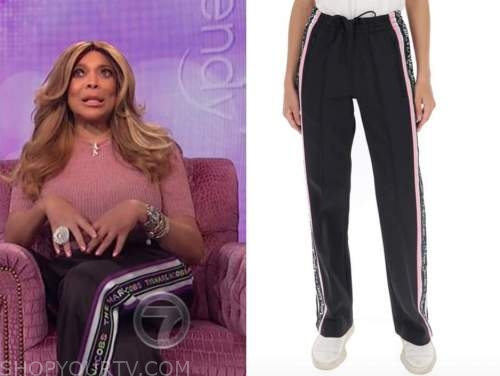 the wendy williams show, wendy williams, track pants