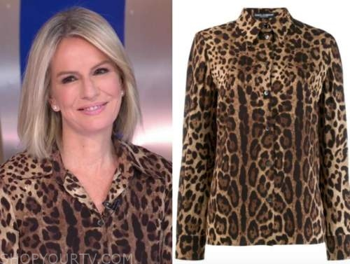 dr. jennifer ashton, good morning america, gma3, leopard blouse