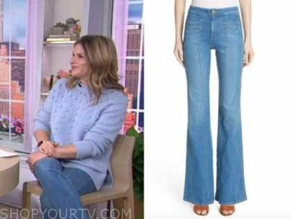 jenna bush hager, the today show, seam jeans