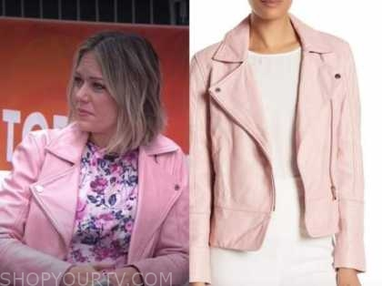 the today show, dylan dreyer, pink leather jacket