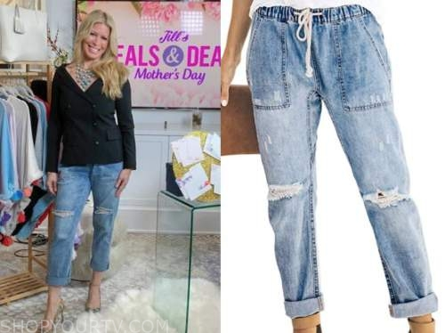 the today show, jill martin, distressed ripped jeans