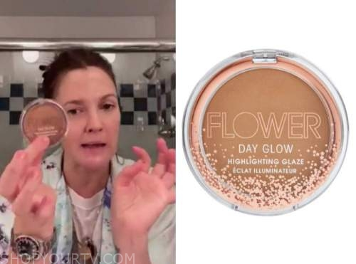 drew barrymore, drew barrymore show, hilighter compact