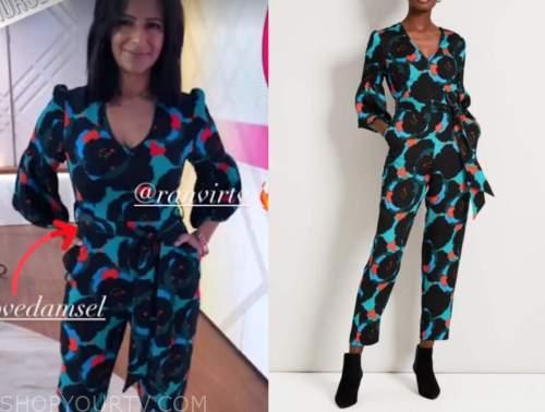 ranvir singh, printed jumpsuit, lorraine