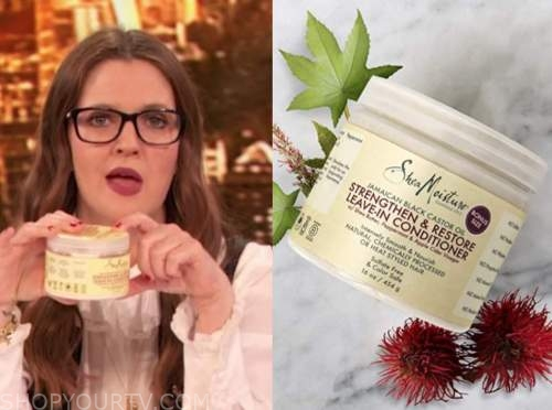 drew barrymore, drew barrymore show, hair leave in conditioner
