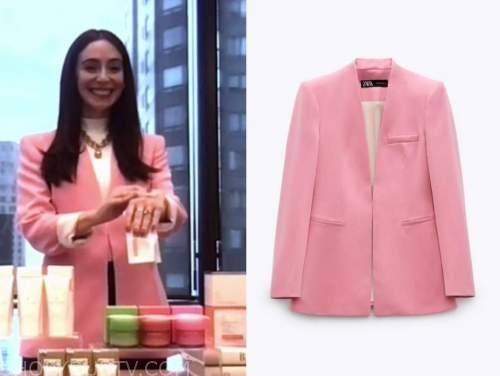 jessica matlin, the today show, pink blazer