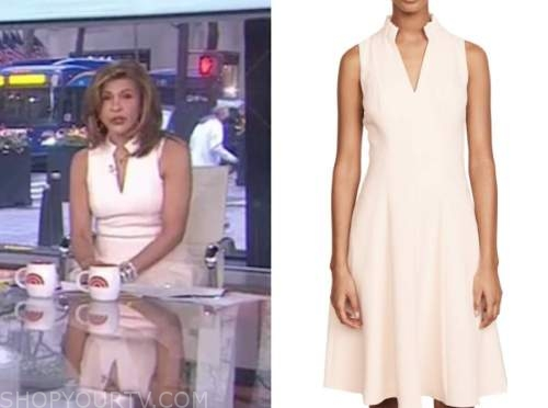 hoda kotb, the today show, ivory dress
