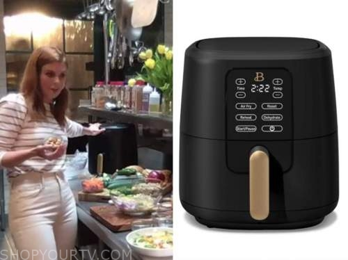 drew barrymore show, black air fryer, joanna garcia swisher