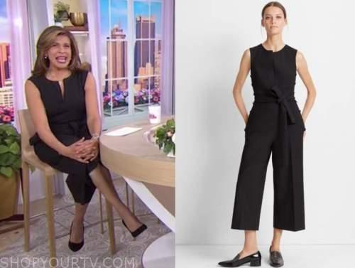 hoda kotb, the today show, black jumpsuit
