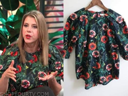 E! news, daily pop, jodie sweetin, floral top