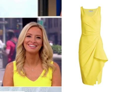 outnumbered, Kayleigh McEnany, yellow dress