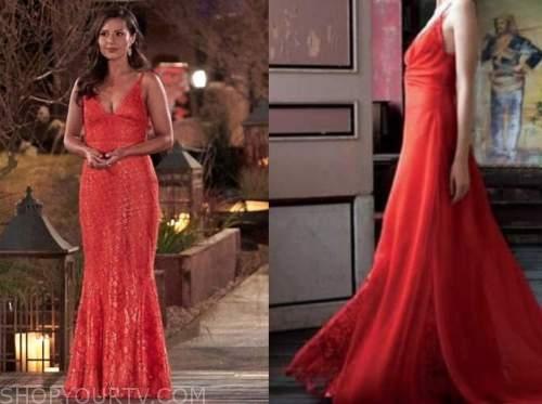 katie thurston, the bachelorette, night one dress