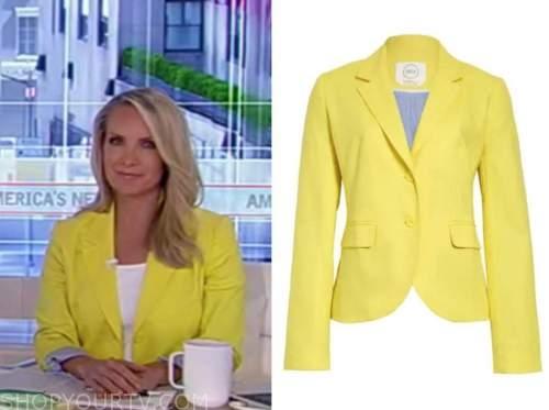 dana perino, yellow blazer, america's newsroom