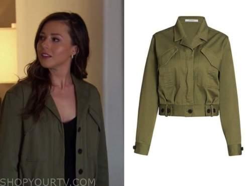 katie thurston, the bachelorette, green jacket