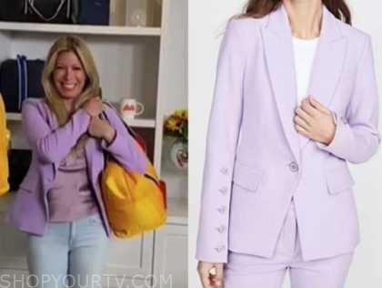 the today show, jill martin, lilac purple blazer