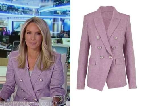 america's newsroom, purple blazer, dana perino