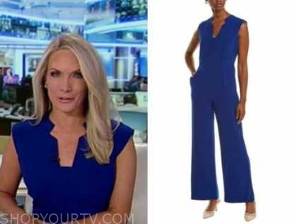 dana perino, america's newsroom, blue jumpsuit