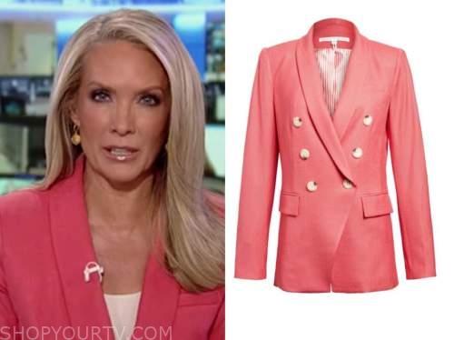dana perino, america's newsroom, coral pink blazer