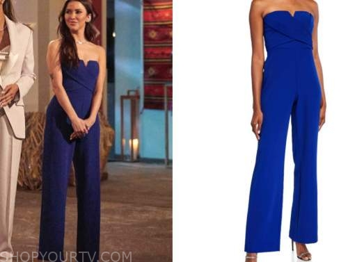 kaitlyn bristowe, the bachelorette, blue jumpsuit