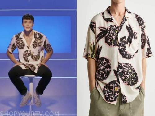 Will Moncada, love island usa, pineapple shirt