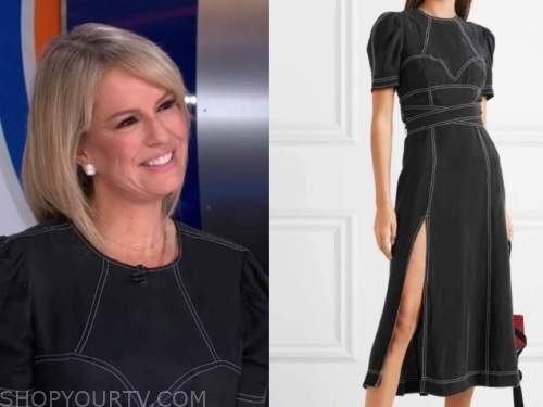 dr. jennifer ashton, good morning america, contrast stitch dress