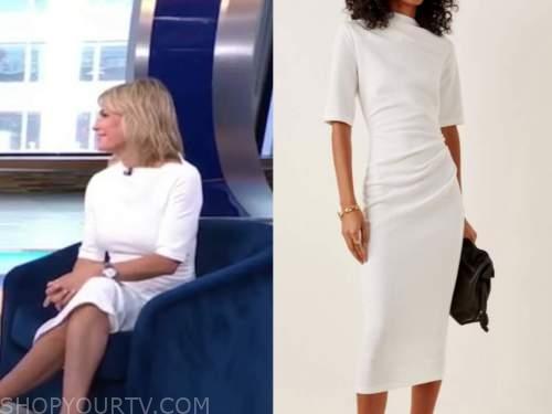 dr. jennifer ashton, good morning america, white dress