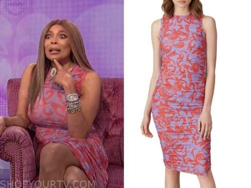 wendy williams, the wendy williams show, purple dress