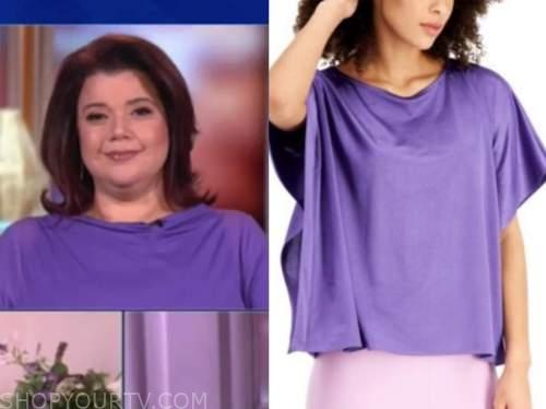 ana navarro, the view, purple top