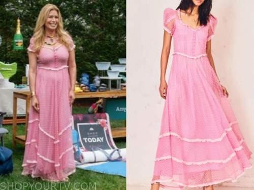 jill martin, pink dress, the today show