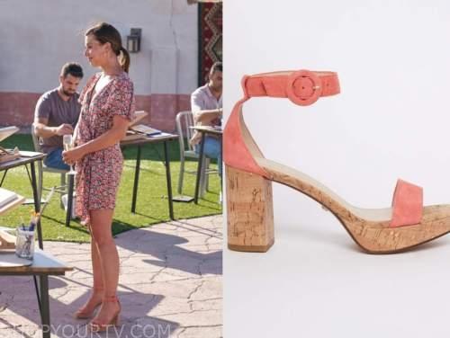 katie thurston, sandals, the bachelorette
