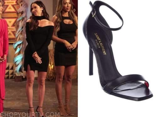 kaitlyn bristowe, black sandals, the bachelorette