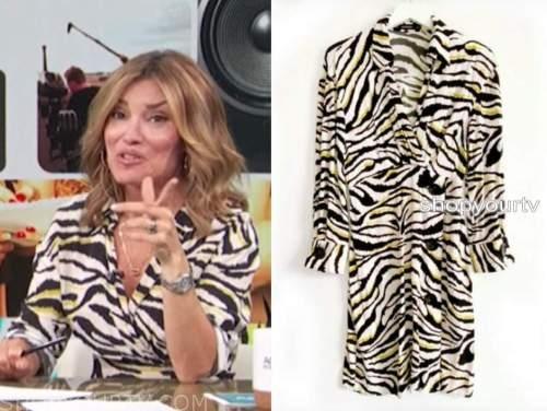 kit hoover, access daily, zebra dress