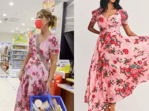 savannah guthrie, the today show, pink floral maxi dress