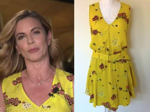 the today show, natalie morales, yellow floral dress
