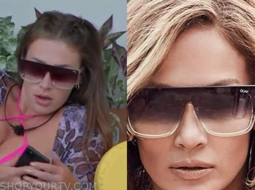 Olivia kaiser, love island usa, sunglasses