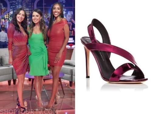 kaitlyn bristowe, purple sandals, the bachelorette, men tell all