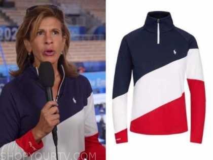 hoda kotb, the today show, olympics team usa jacket