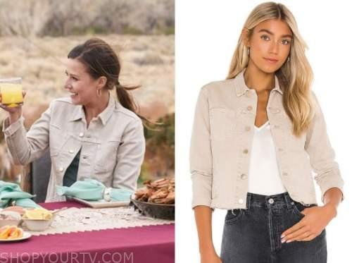 the bachelorette, Katie Thurston, beige jacket