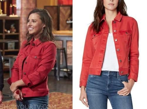 the bachelorette, red jacket, Katie Thurston