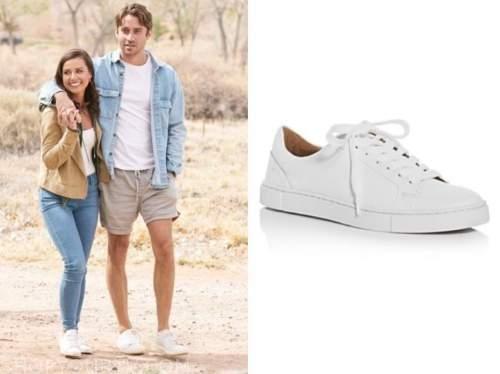 Katie Thurston, the bachelorette, white sneakers
