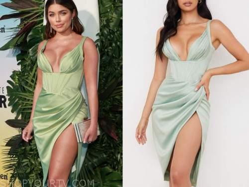 bachelor in paradise, season 7, Hannah Ann sluss, green dress