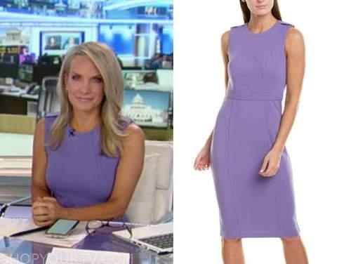 dana perino, purple dress, America's newsroom, Fox News