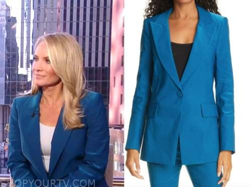 dana perino, America's newsroom, blue blazer