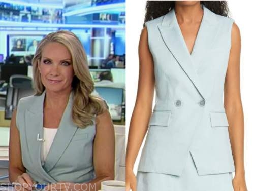 dana perino, America's newsroom, mint green vest